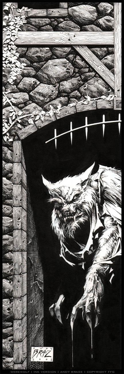 Werewolf by andybrase