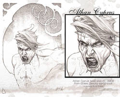 Athan Cyprus Sketch by andybrase
