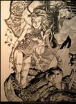 Poison Ivy- Ink