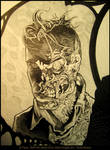 Two Face- Ink