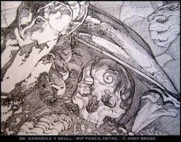 Beneath the Gargoyle by andybrase