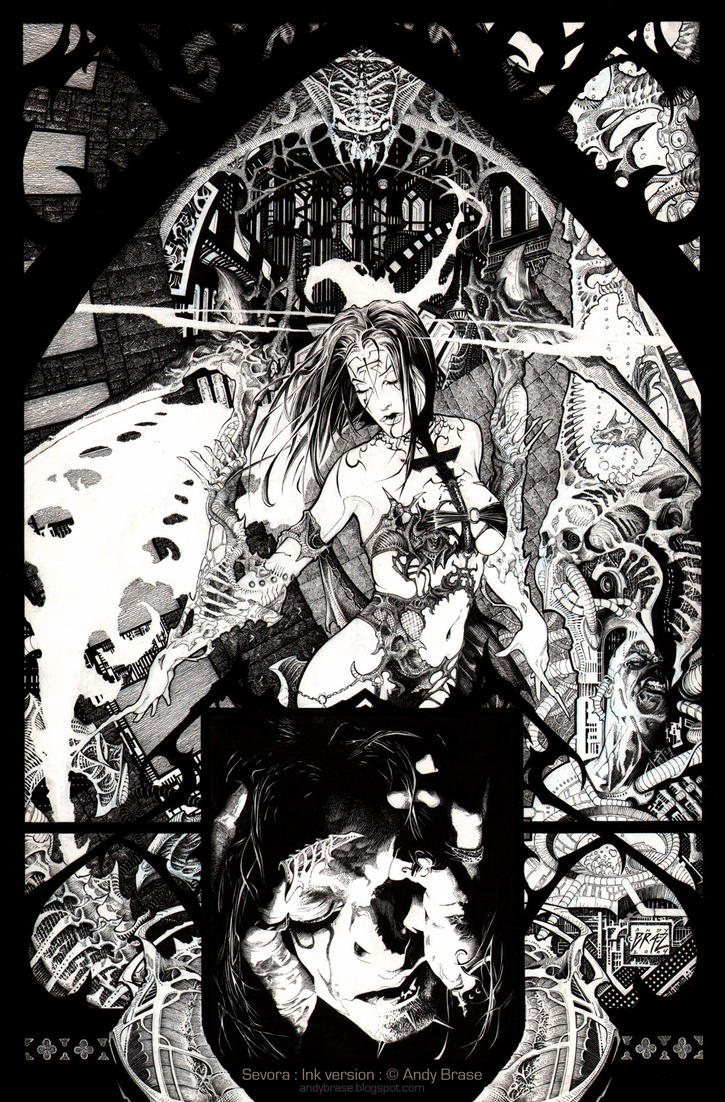 Sevora- Ink by andybrase