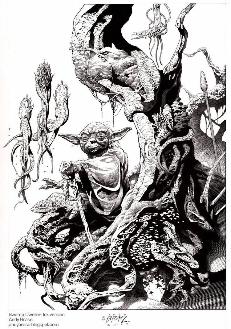 Swamp Dweller- Ink
