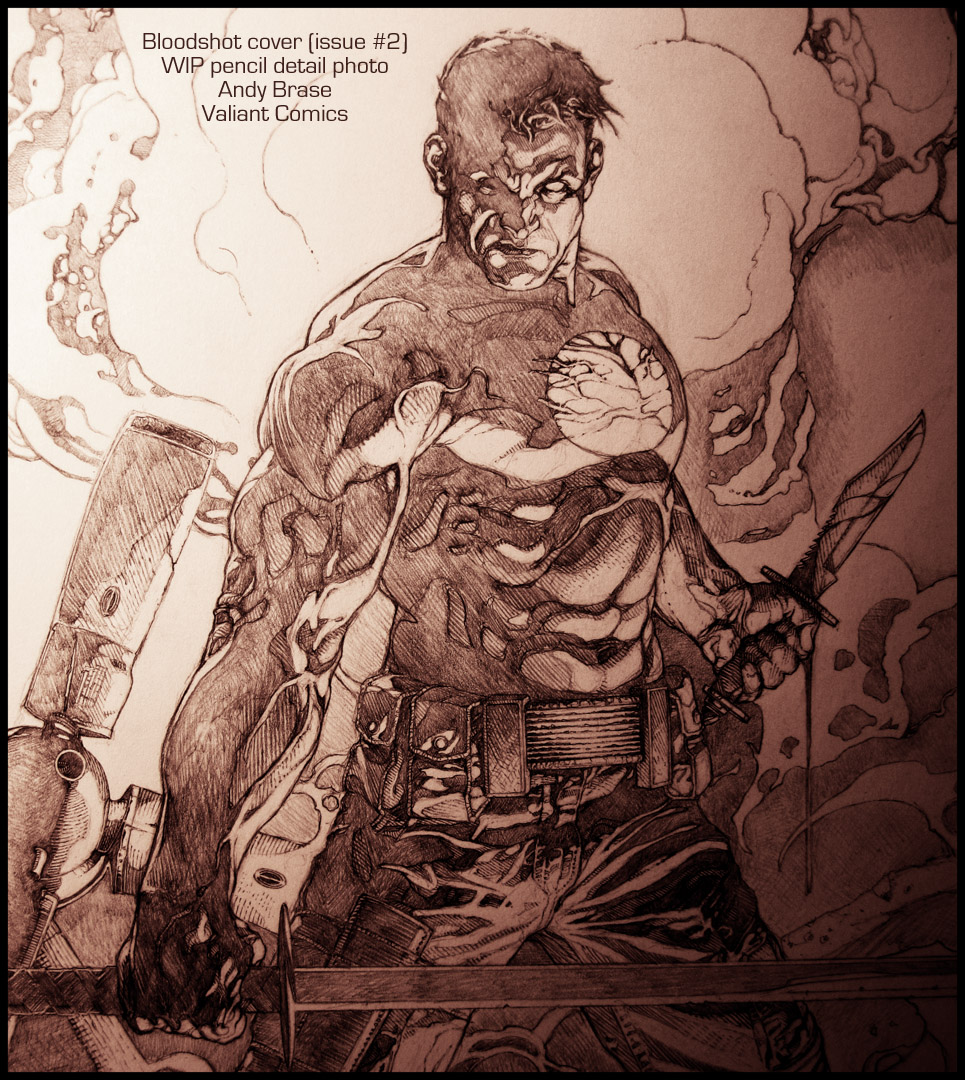 Bloodshot cover: pencil by andybrase