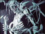 Zombie Demon: Ink detail