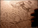 Man of Steel : cover art (WIP)