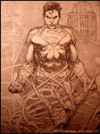 Man of Steel (DC): Cover Pencil