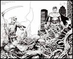 Swamp Thing 19: INK only