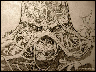 Swamp Thing : Concept art