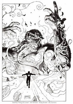 Swamp Thing 20: Ink (DC cover)
