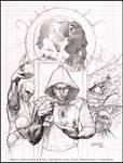 Neil Gaiman cover: Pencil