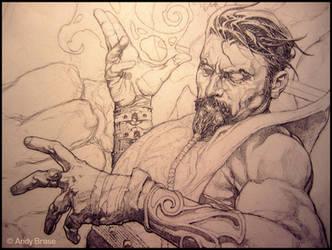 Diabolist: Pencil Preview: Andy Brase