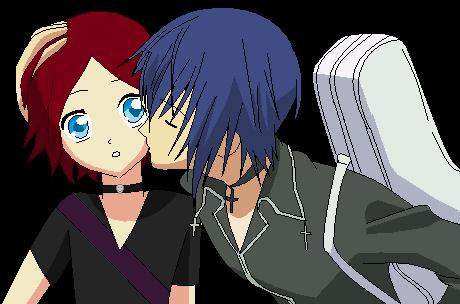 Shugo Chara OC Kiss by Angelfreak67