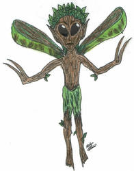 My Version of a Bowtruckles by starzykat