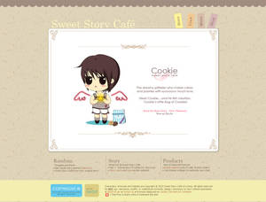 Sweet Story Cafe Website