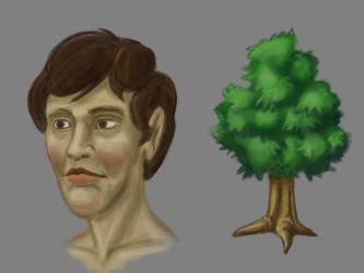 Tree Head by blackears