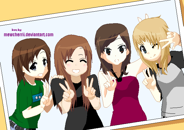 Anime Group Of 3 Friends Base   www.imgkid.com - The Image ...