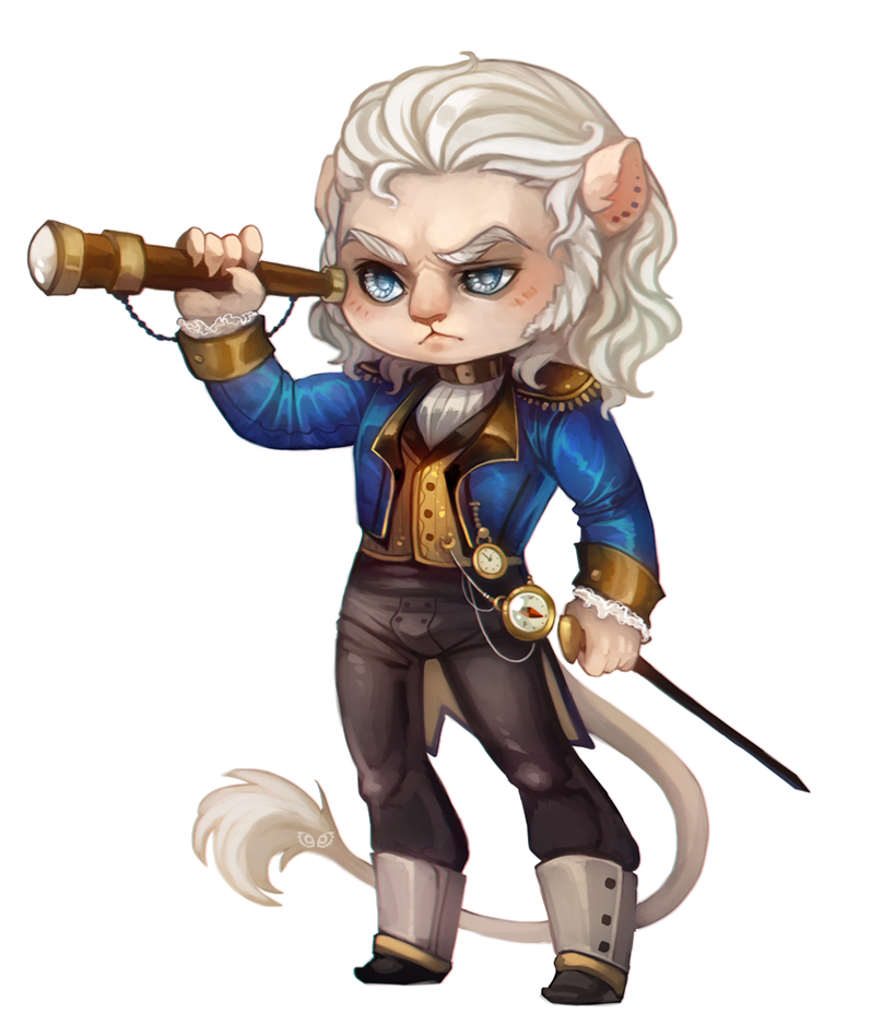 Steffano - chibi commission by clover-teapot