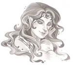Nadia - Digital Sketch Commission