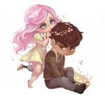 Our Garden - Chibi Commission