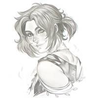 Kismet - Digital Sketch Commission by clover-teapot
