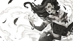 Ophelia - Digital Sketch Commission