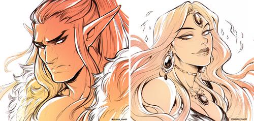 Commission - Doodly doodles dump 10 by clover-teapot