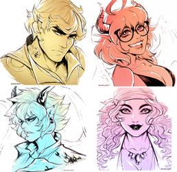 Commission - Doodly doodles dump 15