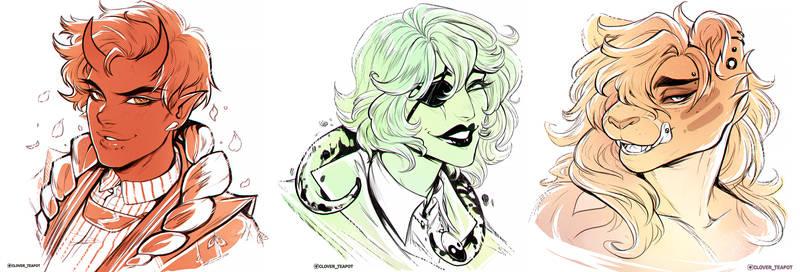Commission - Doodly doodles dump 16