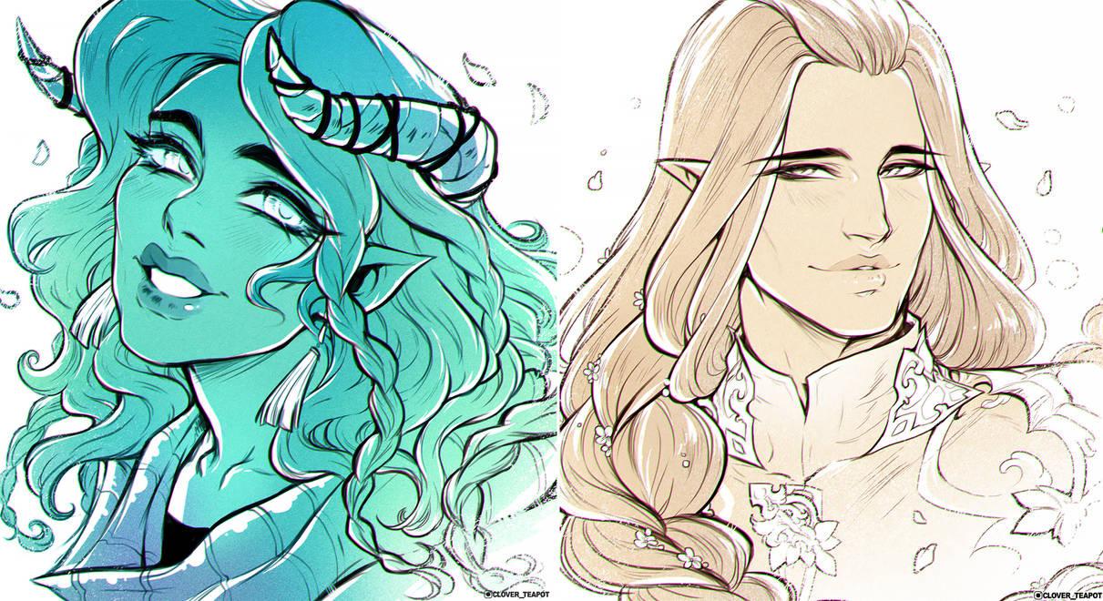 Commission - Doodly doodles dump 20 by clover-teapot