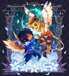 Midnight Waltz - Chibi Commission