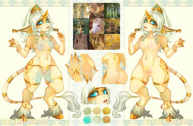 [ CLOSED] Unicorn Adoptable - Solar Goddess