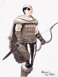 General Hua Mulan by nautilebleu