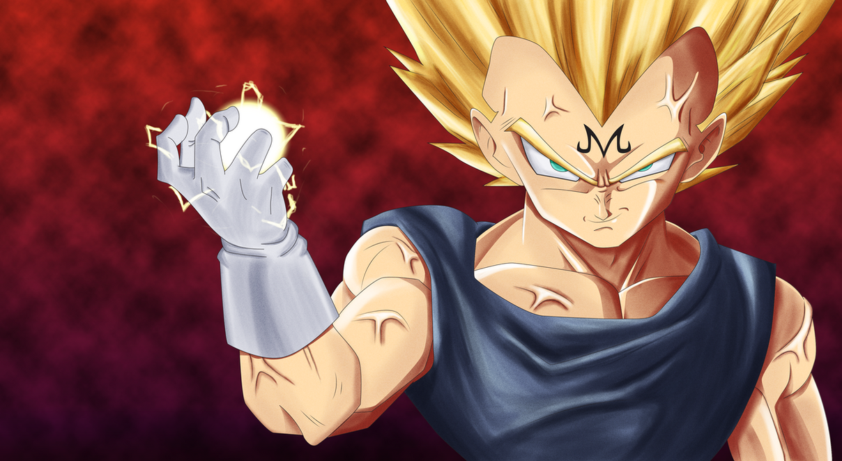 Fight me, Kakarot! by fear229