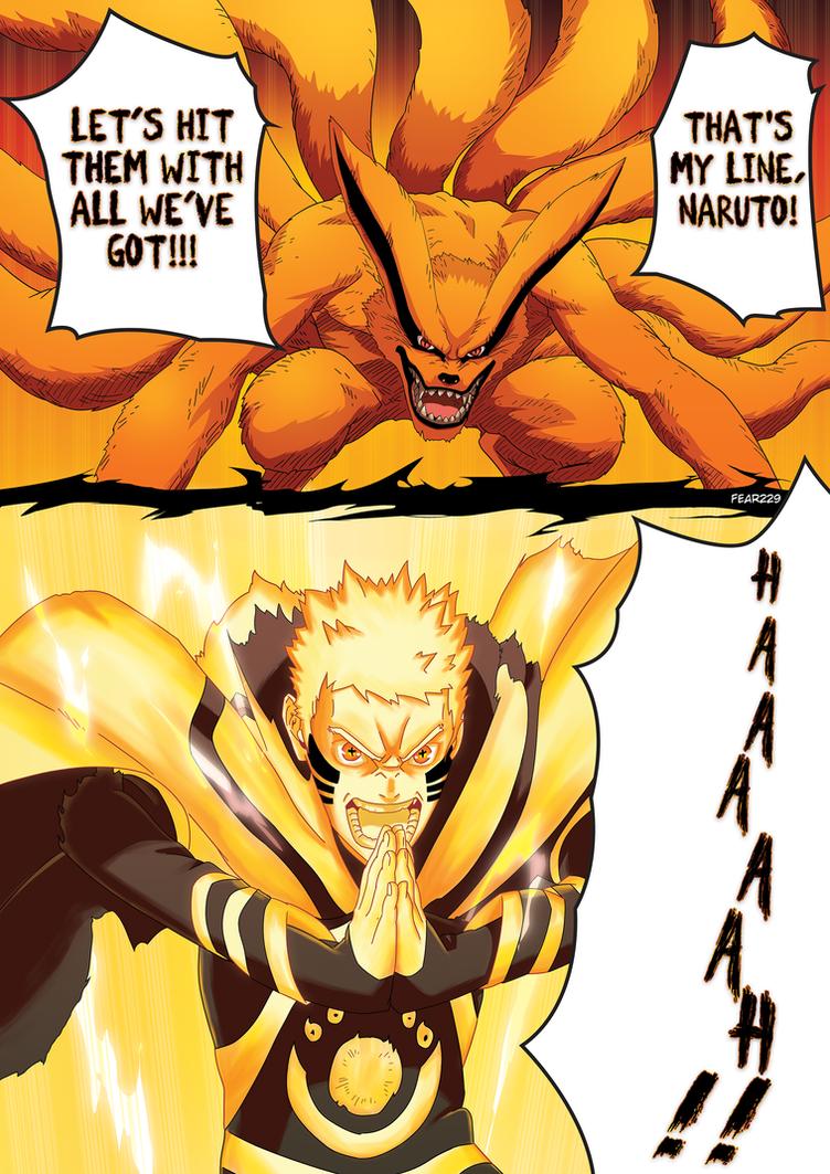 naruto kurama by fear229
