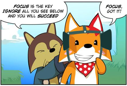 Rocket Fox 3 panel 1! by StacyKing