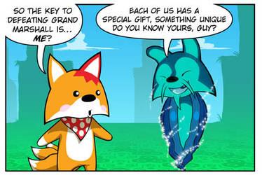 Rocket Fox 21 panel 2: