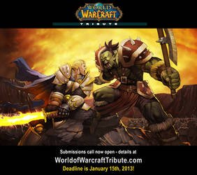 World of Warcraft Tribute reminder #4! by StacyKing