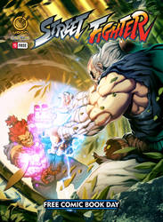StreetFighter Free Comic Book Day Cover!