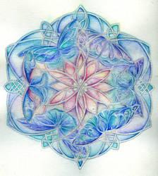 Spring Mandala by darklingwoods