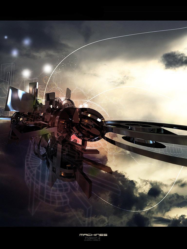 Machines: Invasion 2 by Zkram