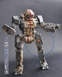 Mechwarrior Online Commando 1/60 model