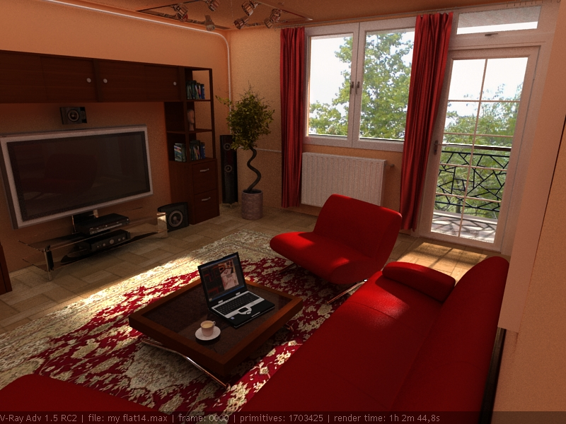 living room by andyablo