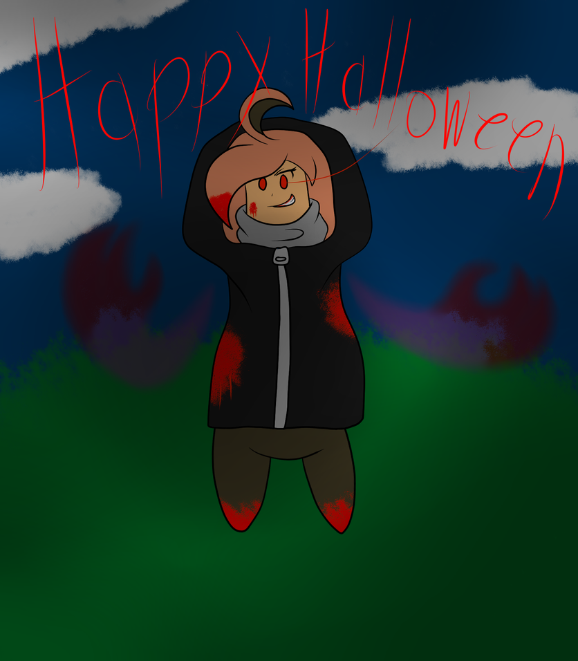 A Hallow's Eve Message From Rena~ by 343713-Glitch