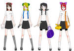 Draconia High School Girls' Uniform - Summer
