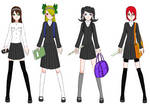 Draconia High School Girls' Uniform - Autumn