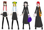 Draconia High School Girls' Uniform - Winter