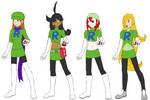 Team Rose - Hilary, Rebecca, Jordan, Dolores