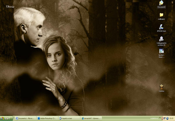 forest wallpaper. Dramione Forest Wallpaper by