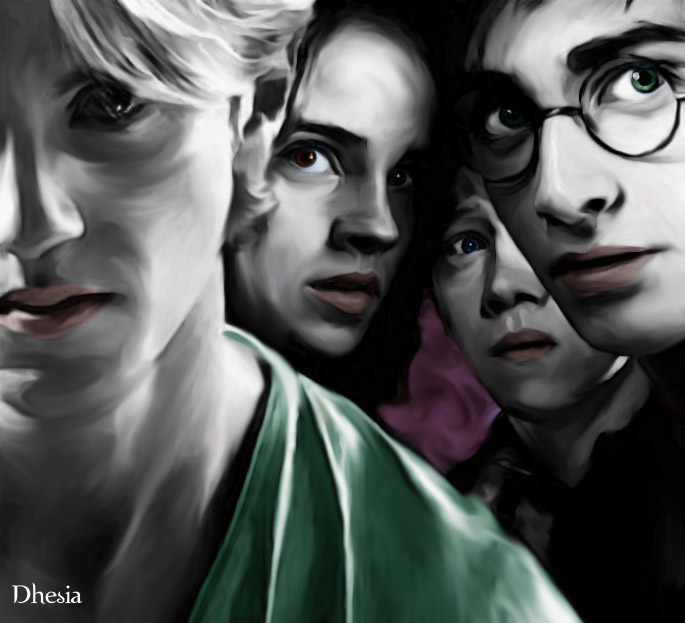 fanfic harry potter draco y hermione: